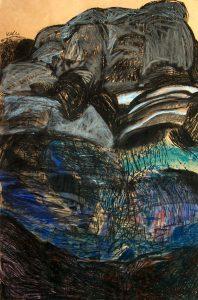 Jelovica, pastel, 90 X 60 cm, 2008.godina.